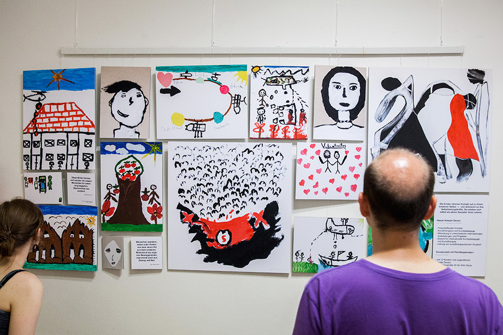 Kunsttherapeutisches Projekt von Hasan Hüseyin Deveci
